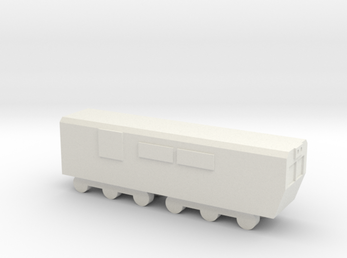 1/700 North Korean Locomotive 3d printed