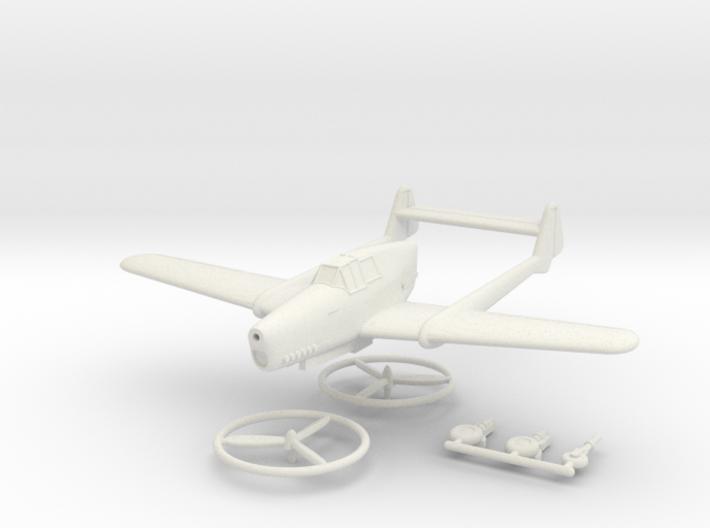 1/144 Fokker D.XXIII 3d printed