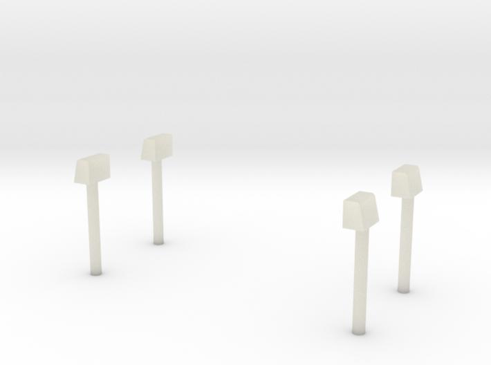 Blaulichter für Econic Aufbauten-Hinten 3d printed