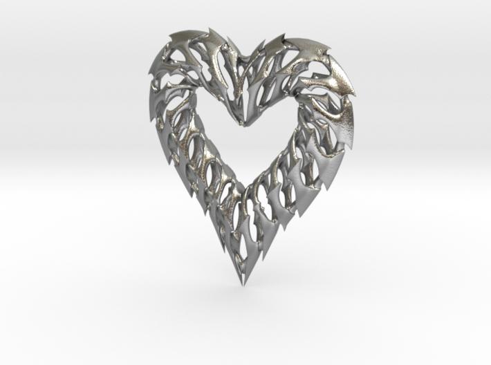 Rib Heart 02 3d printed