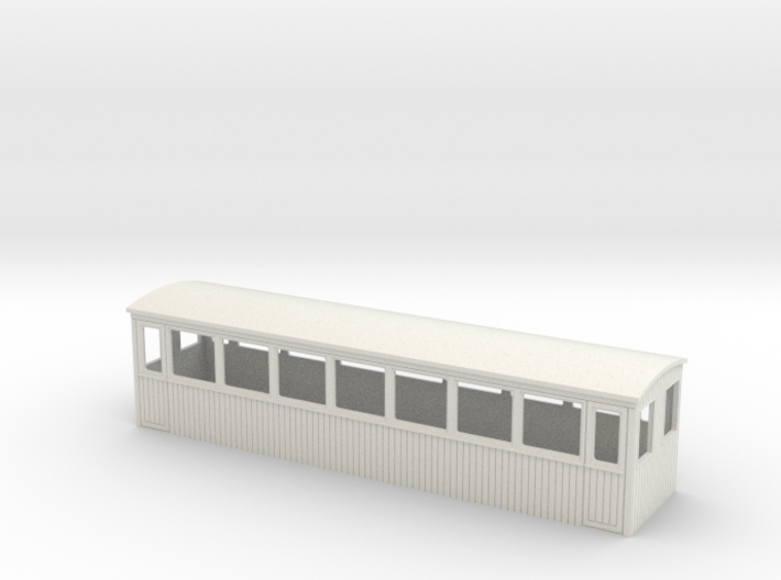 OO9 tourist saloon coach body 3d printed