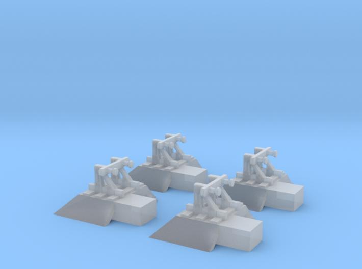 4 x Terminus Buffers T 1:450 3d printed