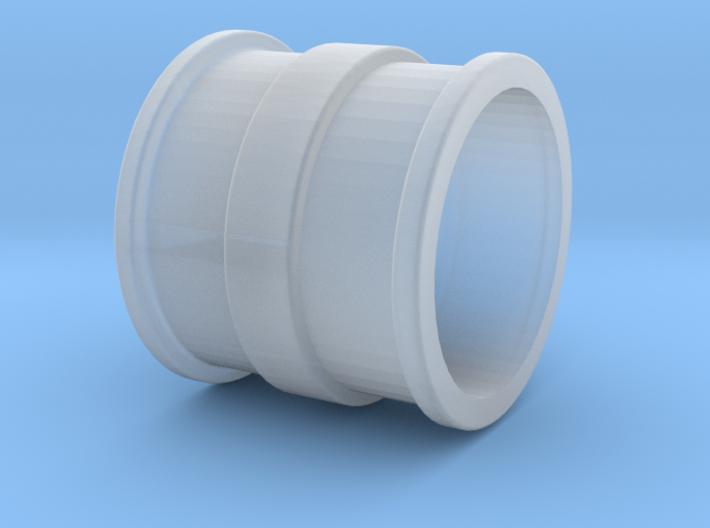 H0 trilex double rim 3d printed