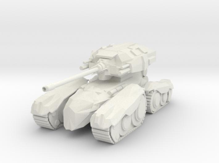 Moth M1 Tank 3d printed