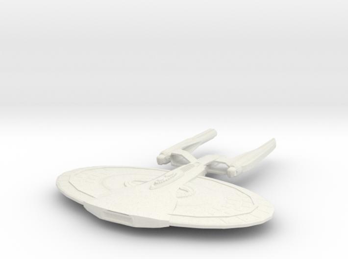 Monroe Class Battleship 3d printed