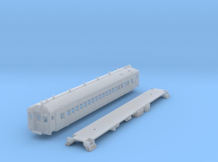 N Scale Reading MU 'Blueliner' Coach N 3d printed