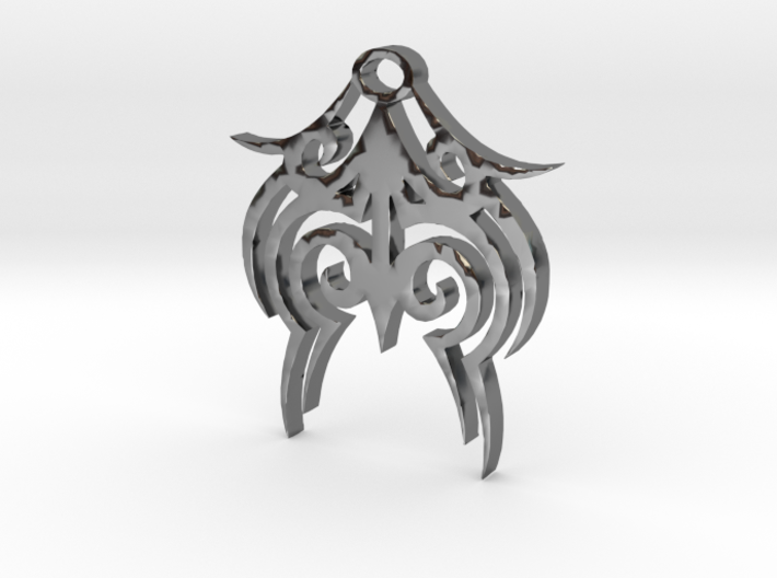 Tytrian WhiteHawk Trial Necklace 3 3d printed