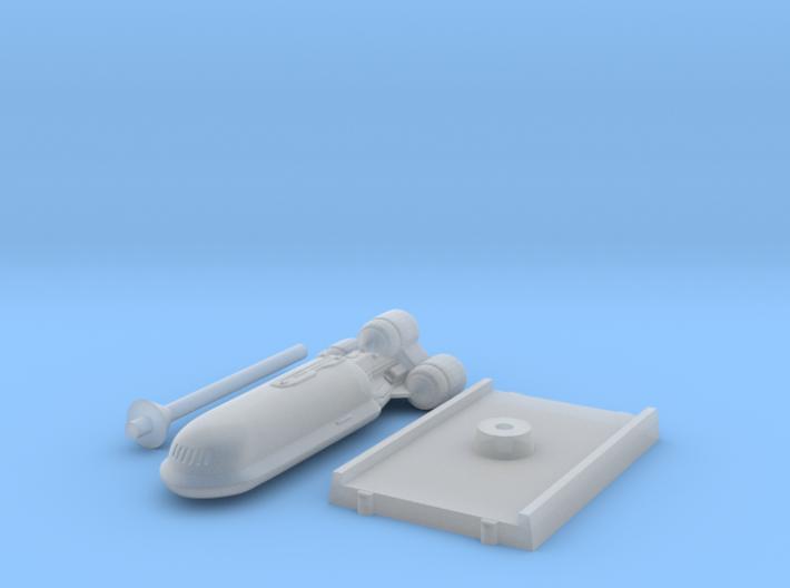 Senate Starship - With base 3d printed