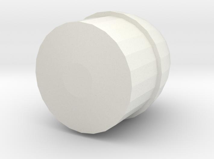 Barrel Back 3d printed