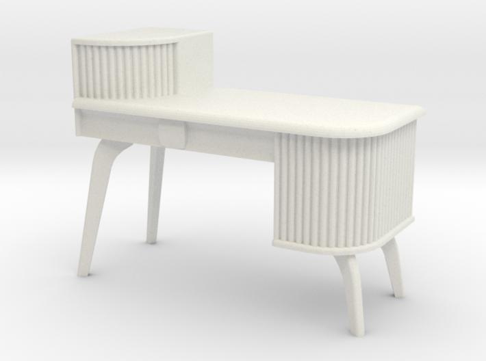 1:24 Asymmetrical Moderne Desk 3d printed