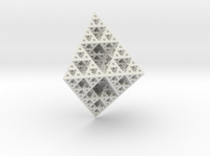 Rhombododecahedron Fractal 3d printed