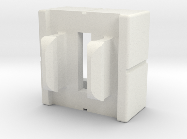 Rokenbok Half Block With Snap 3d printed