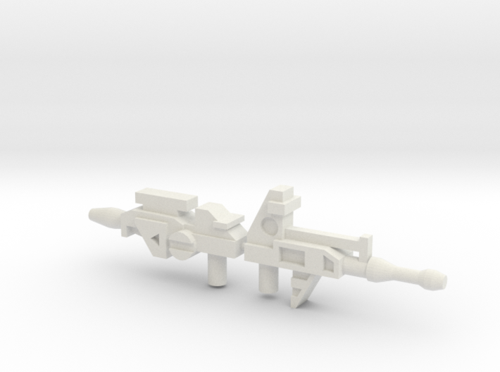 Robo Guns JZ + PRL 3d printed