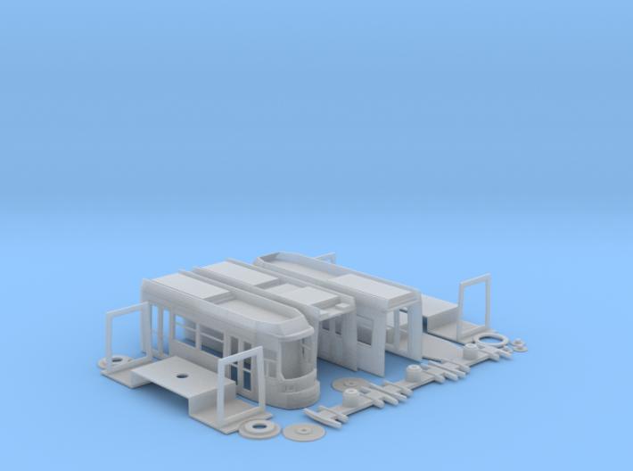 GT6N Tram H0 3d printed