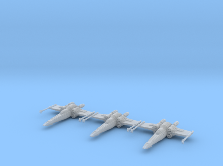 Xe95 Huntsman - 1/270 boardgame scale - 3 Pack 3d printed