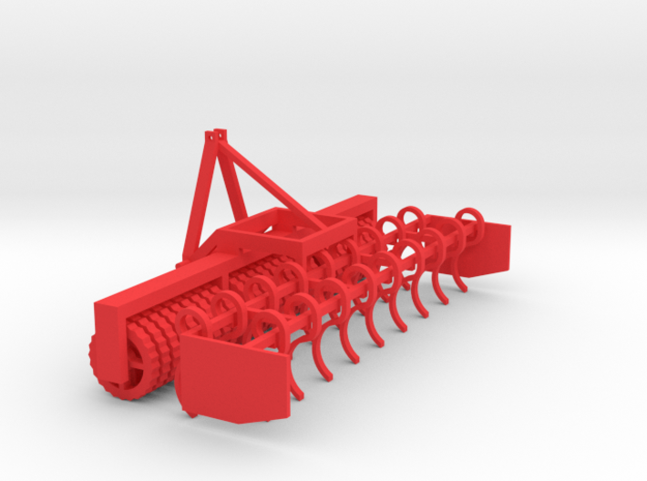 Frontcultivator 1/32 Model 3d printed