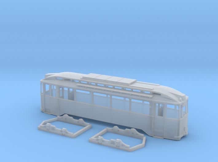 Tram Leipzig Typ24c Spur H0 (1:87) 3d printed