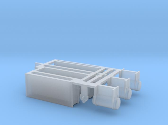 Batteriekasten Heizwagen DR DB DRG TT 1:120 3d printed
