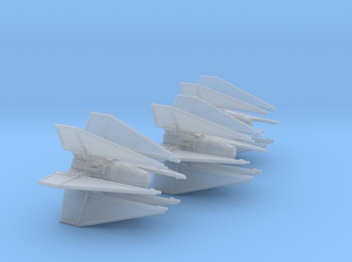 TIE Geist 1-270 Wing 3d printed