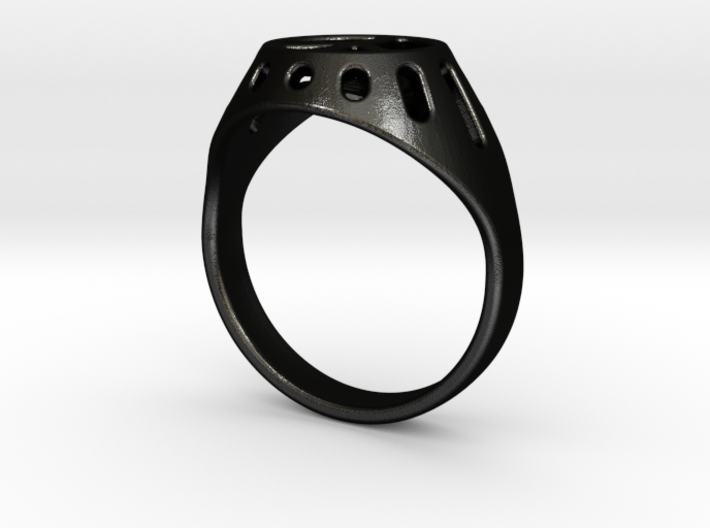 Joviart Peace Ring 02 - D17,5mm 3d printed