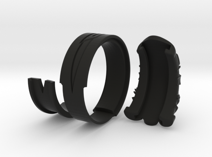 Vambrace Ring 9 3d printed
