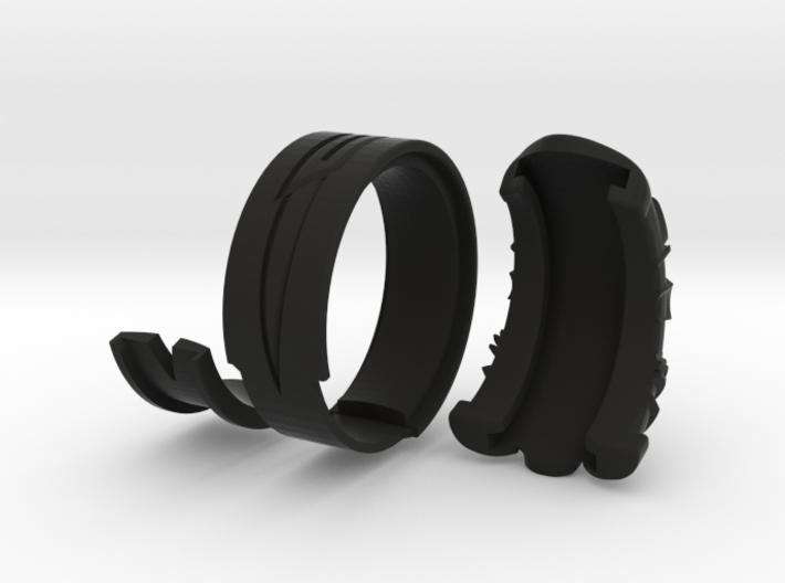 Vambrace Ring 6.5 3d printed