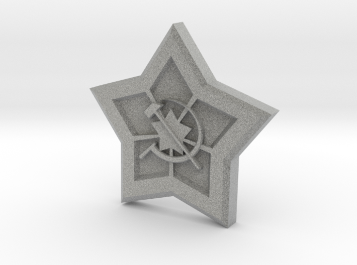 Red Alert - Soviet Union Pendant 3d printed