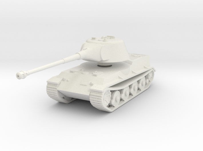 Vehicle- Löwe Tank (1/87th) 3d printed