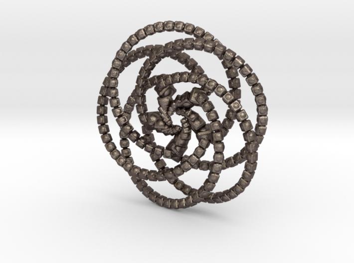 Cube Knobs 5 Rings - 5cm 3d printed
