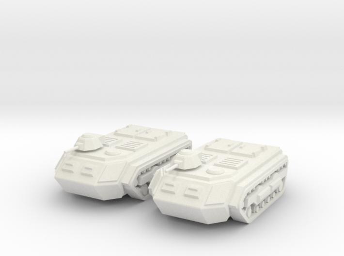 15mm Sphinx APC (x2) 3d printed