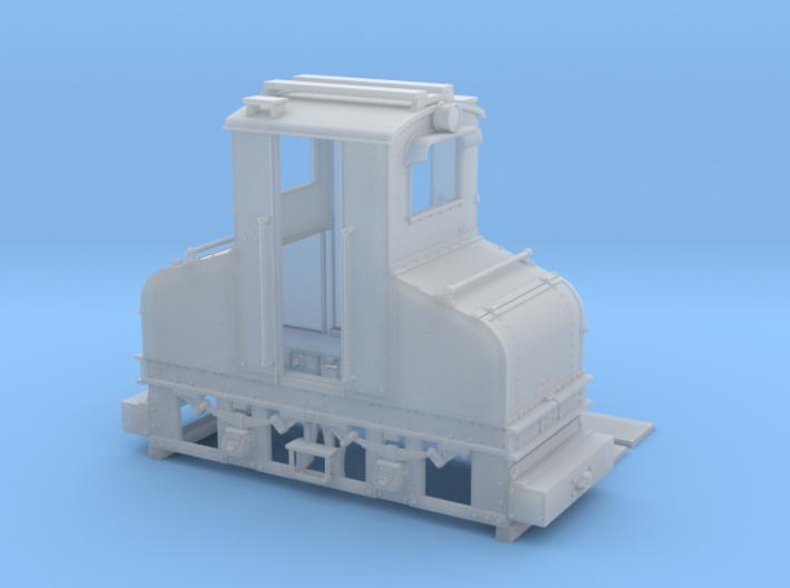 AEG Feldbahn Fahrleitungslok 1:35 3d printed