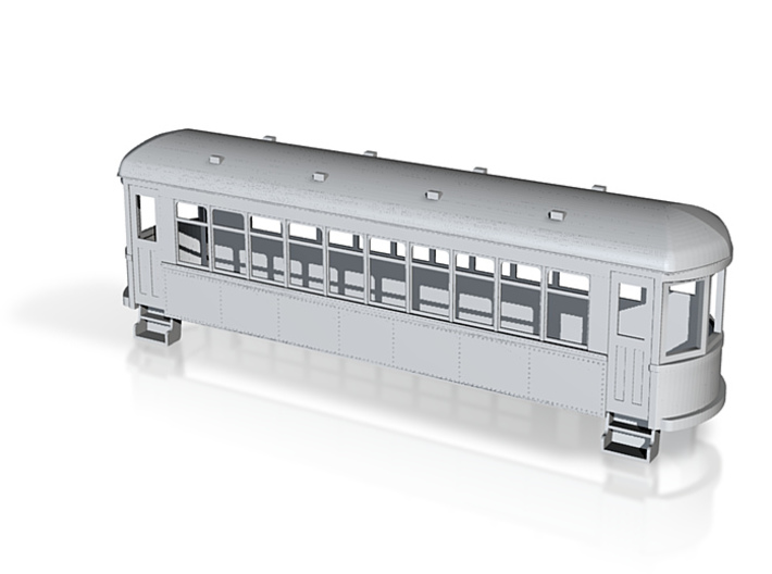 5.5mm trolley coach 3d printed