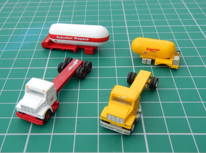 Propane Truck Bodies 3d printed Bodies and trucks