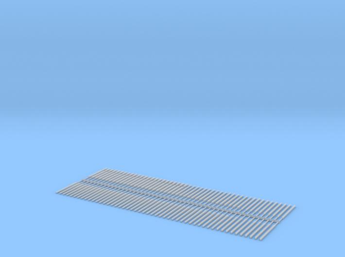 Concrete Fence Posts1.8m Chainlink.stl 3d printed