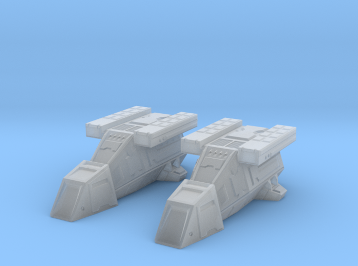 2x DX9 ST Transports 45mm long 3d printed