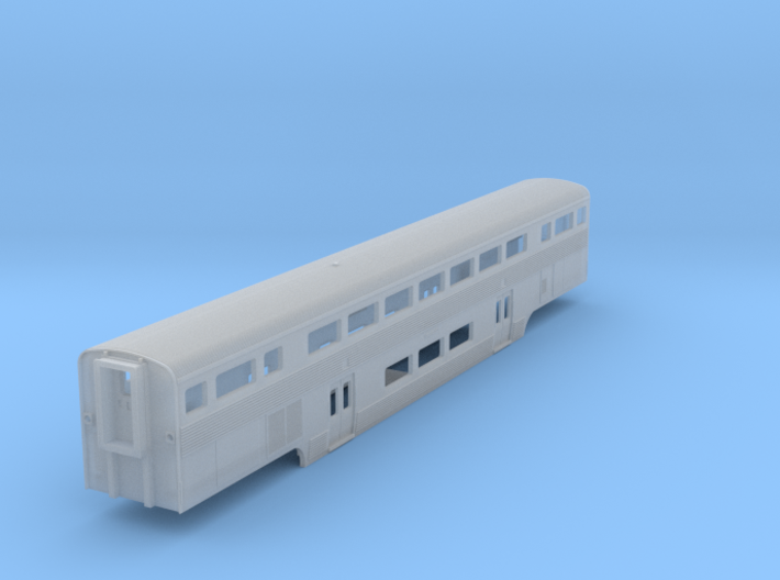 Amtrak California Car Coach 3d printed