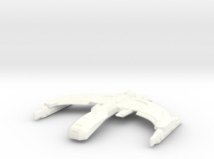 Romulan Zeuron Class Invader 3d printed