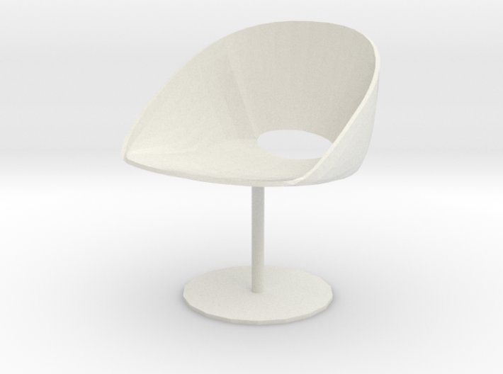 "Davis Lipse Seating Pedestal base 3.7"" tall 3d printed"