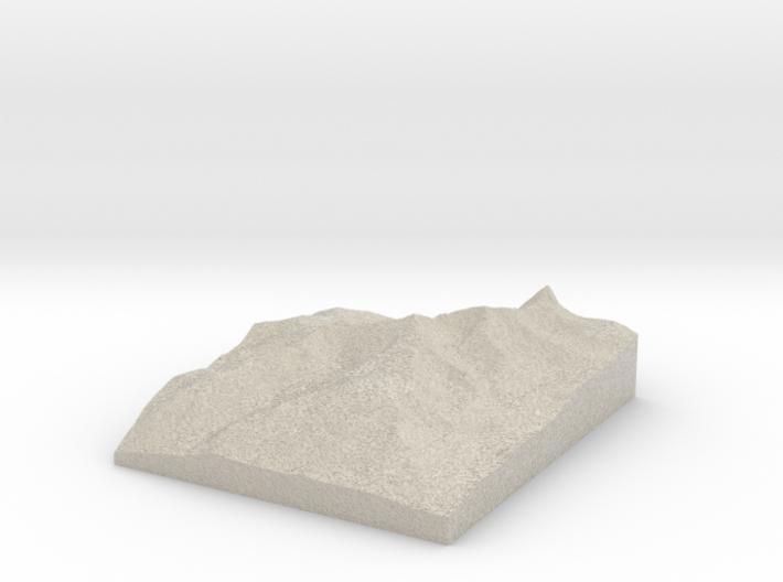 Model of Montezuma 3d printed