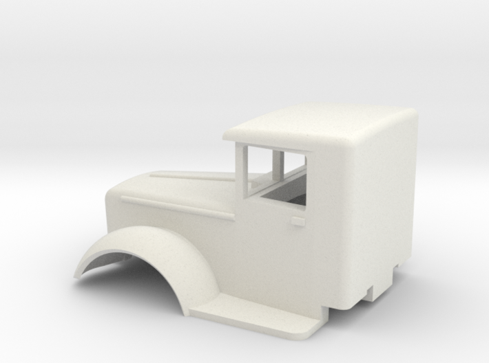 Mack-cab-1to72-07mm 3d printed