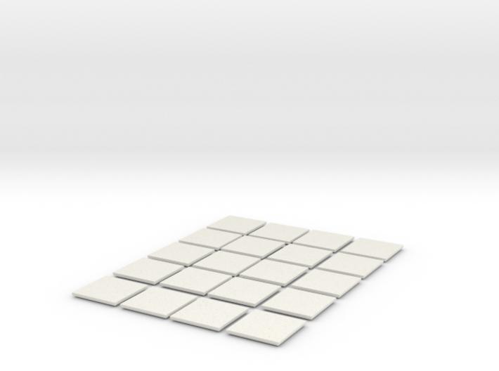 Mesh Tile Starter Pack 3d printed