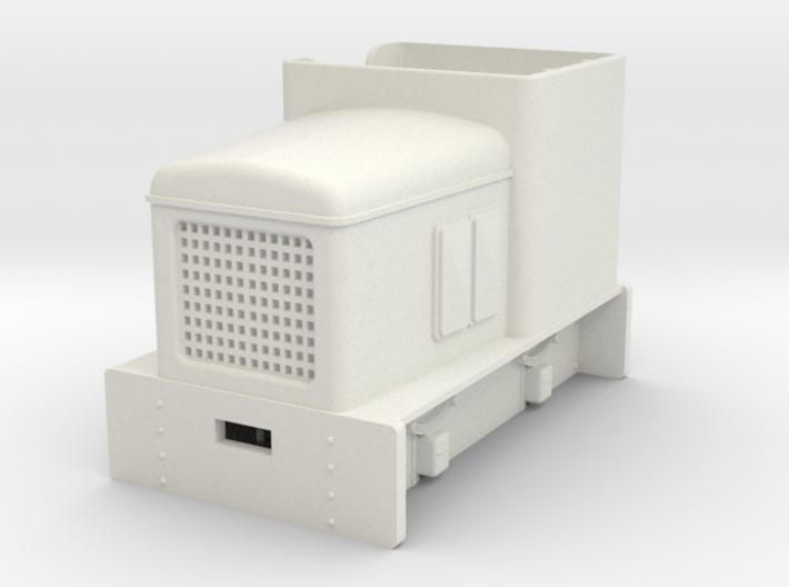 Gn15 OK diesel loco open cab 3d printed