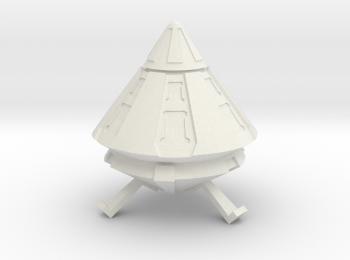 Spacer1999 Alien Trader Ship 3d printed