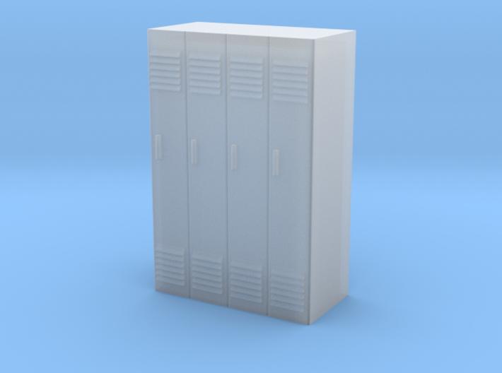 Lockers - 1/87 (HO Scale) 3d printed