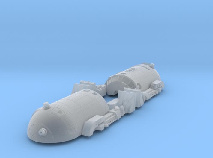 1/24 (G) Scale Robot-2 2-Leg Kit 3d printed