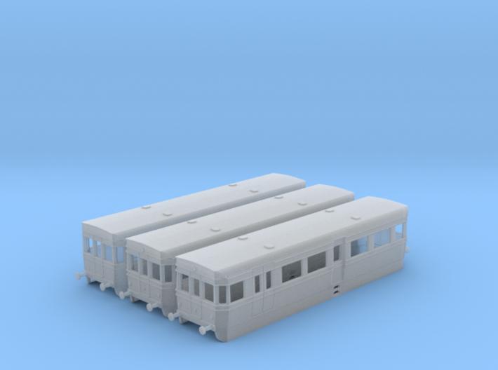 British Rail BUT ACV Railbus Set (N Gauge) 3d printed