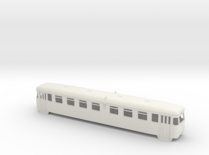 Talbot Triebwagen Zillertalbahn 0 e/m 1:45 3d printed