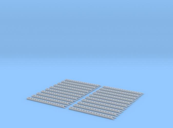 4052-ZSS-87_2tlg Schiebleiter aus Holz 20er Set 3d printed