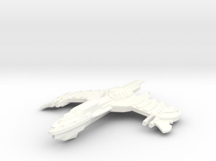Birdgan Class Battleship -Parts- 3d printed