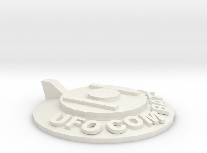 UFOCombat.com UFO 1 3d printed